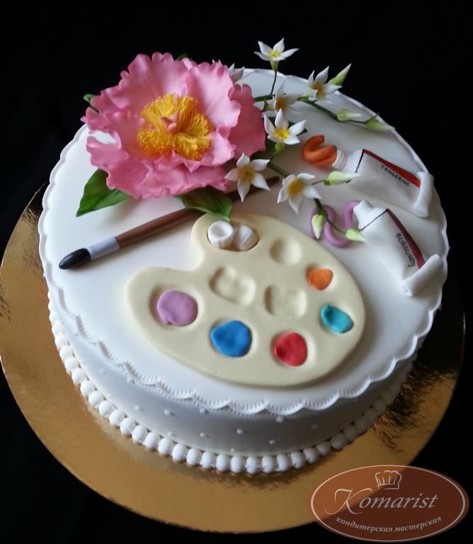 Торт палитра фото
