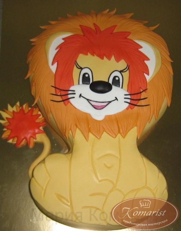 Как сделать торт львенок